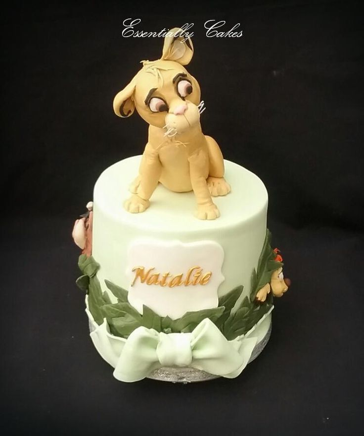 Simba Lion King - Cake by Essentially Cakes