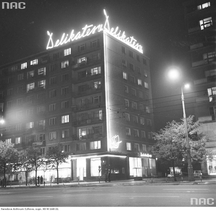 Marszałkowska St, 1971, Warsaw, Poland