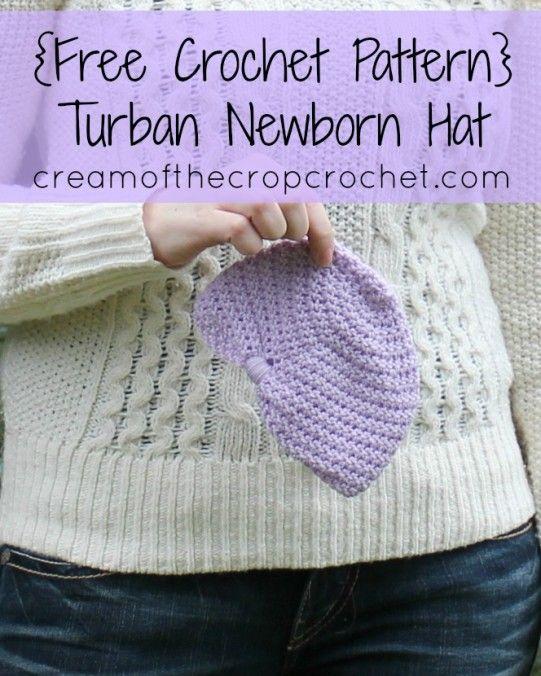 Free Crochet Pattern For Baby Turban : Crochet turban, The ojays and Free crochet on Pinterest