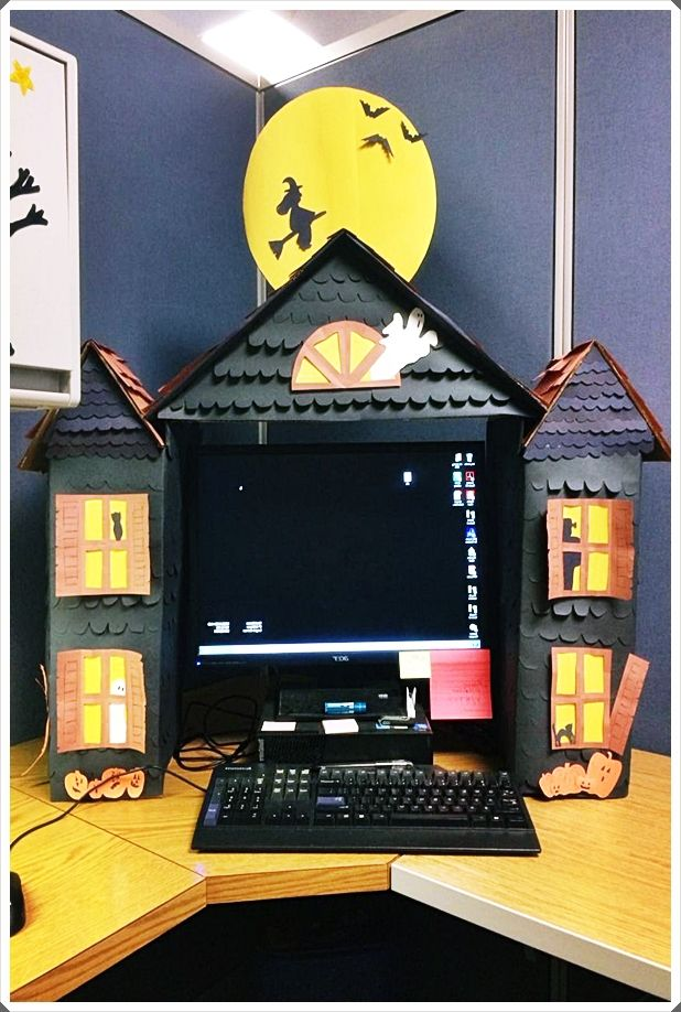Halloween Office Ideas 2020 Easy Halloween Decorations For The Office Trends 2020 | When this