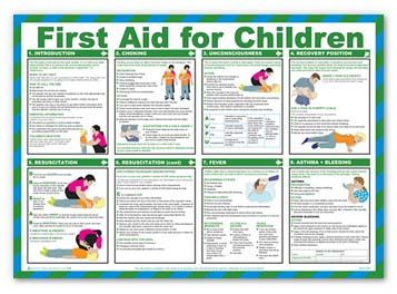 Cadette First Aid Badge: Step 1 - Understand how to care for younger children.