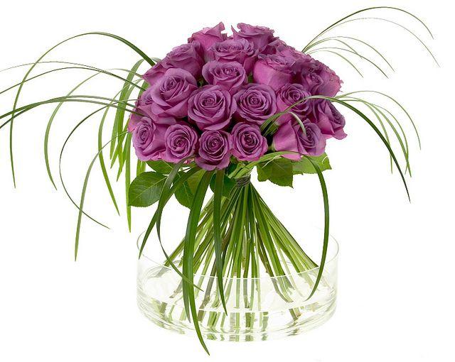 Purple Rose Bouquet — Leanne and David Kesler, Floral Design Institute, Inc., in Portland, Ore. by Flower Factor, via Flickr