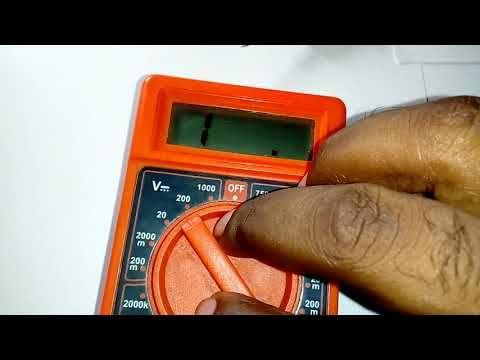 Multimetro Digital Como Usarlo Con Ejemplos Youtube Electricidad Y Electronica Digitales Electromecanica