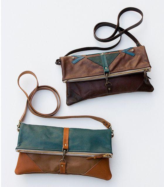 Fold over clutch/purse