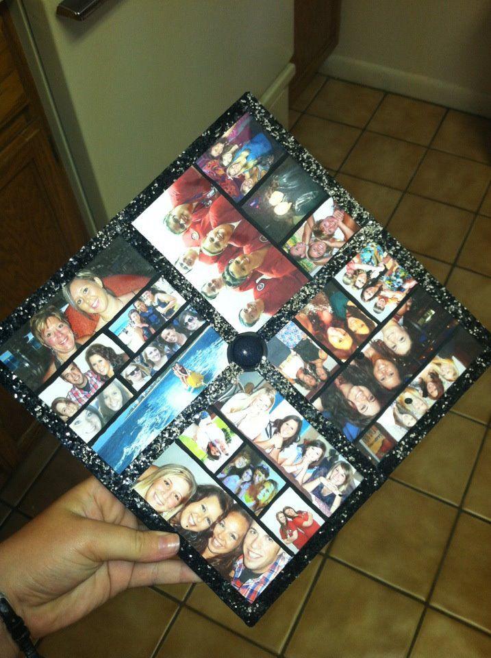 Graduation cap decorating idea! I really want to do this!!! :)