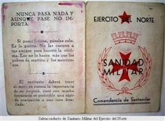 Spain - 1937. - Sanidad militar - Leales Jiminieg@s Represaliados
