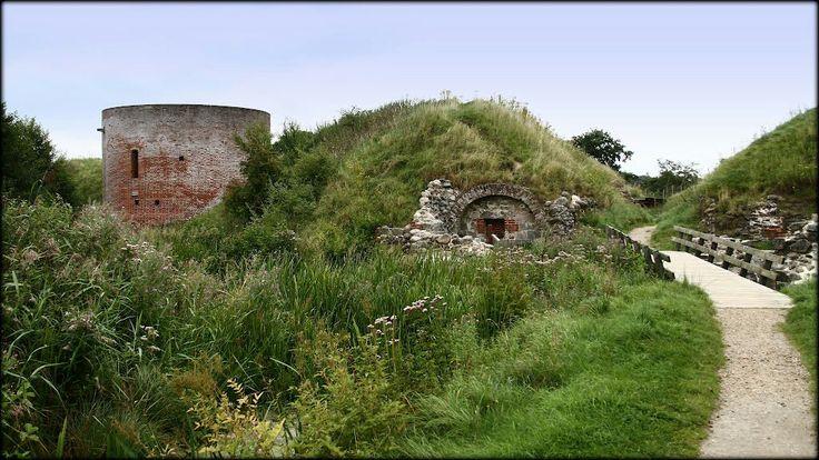 Ruinerne under Hald Hovedgård v.Viborg.