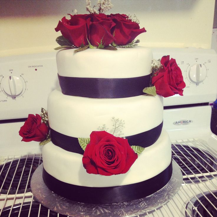 #weddingcake #roses #wedding