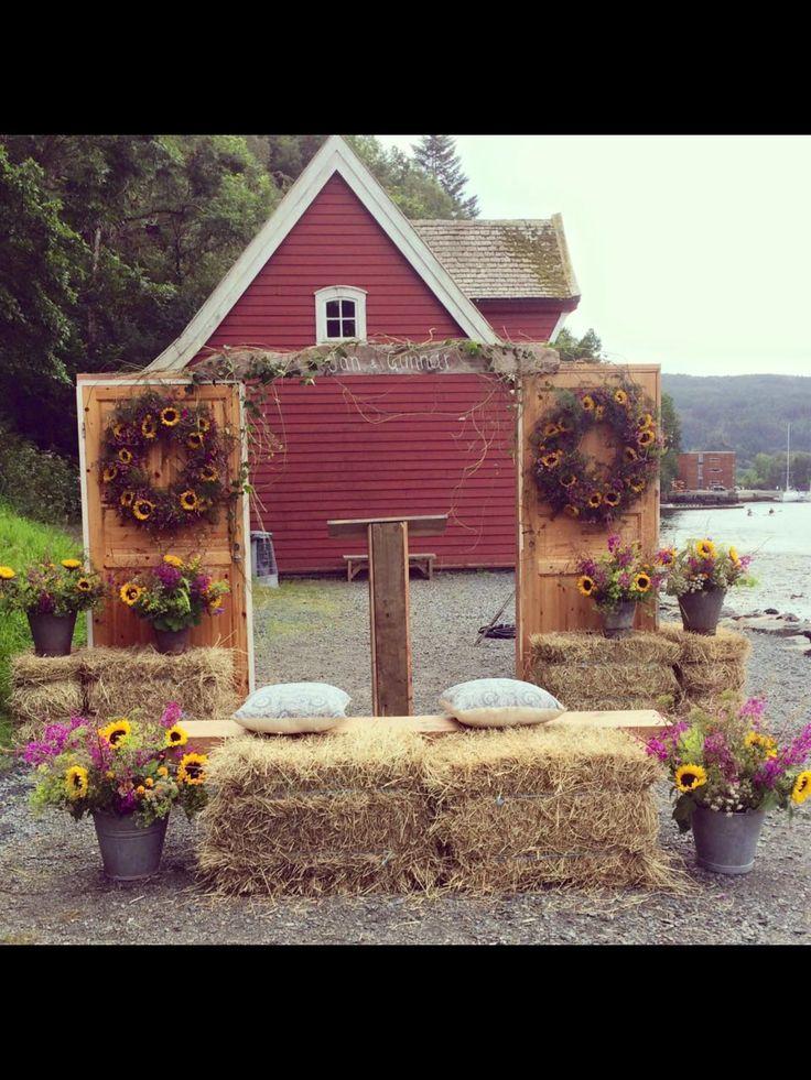 Bryllups blomster fra Atelier Flora