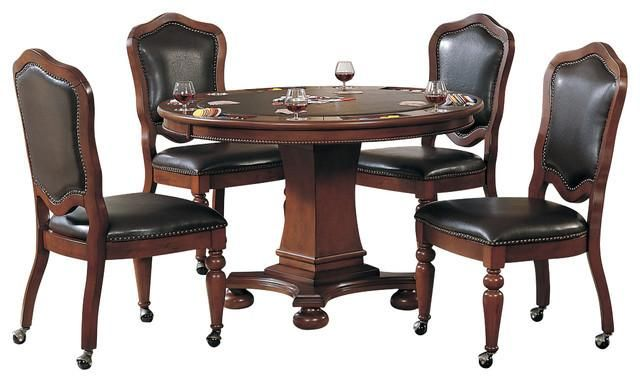 convertible poker dining table bellagio by sunset trading in 2019 rh pinterest com