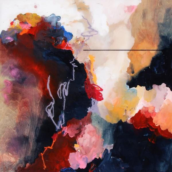 Janna Watson's compelling abstract compositions use colour, line, and energetic brushstrokes to evoke emotion in the viewer. Her work possesses an elegant and p