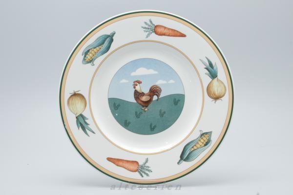 Speiseteller D 27 cm (Dekor: Hahn) Villeroy & Boch A La Ferme