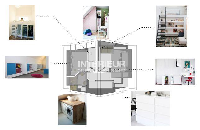 Zolder ontwerp afgerond | Interieur design by nicole & fleur