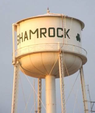 Shamrock Texas, We spent the night here in the middle of a terrible blizzard on our way from Albuquerque to visit family in Springfield , MO. 11th grade Christmas.