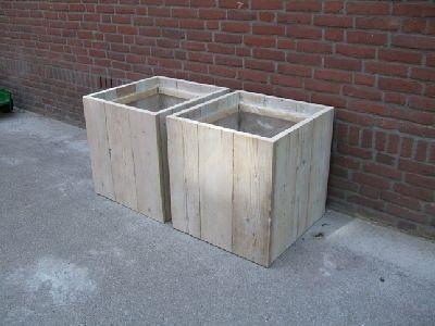 Planters (scaffolding boards)