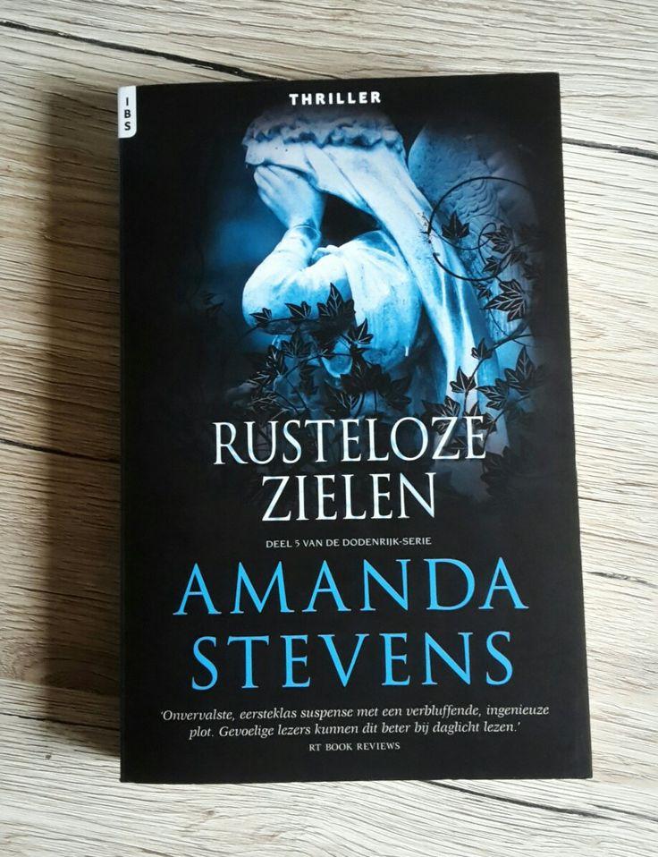 dodenrijk-serie: rusteloze zielen  Amanda Stevens #5