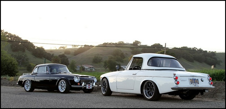 Datsun : Nice japanese roadsters in Napa Valley