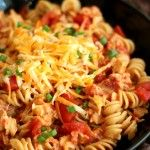 One-Pot BBQ Chicken and Bacon Pasta