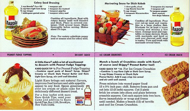 Advertising Recipe Cards - 1968 by Vintage Dish, via Flickr