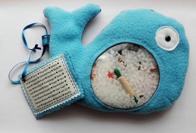 I-spy-bag - spy fish | Spionfisch by Mit-Nadel-und-Faden Soll auf Autofahrten für zufriedene Kilinderchen sorgen, liest man ...