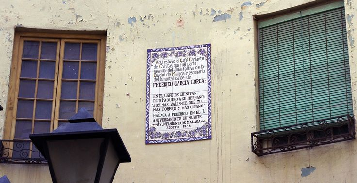 Málaga. Café de Chinitas