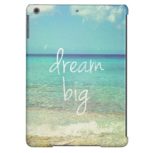 Dream big iPad air case