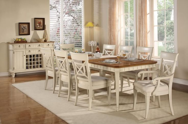 french country dining room furniture table 6 chairs set cottage ebay