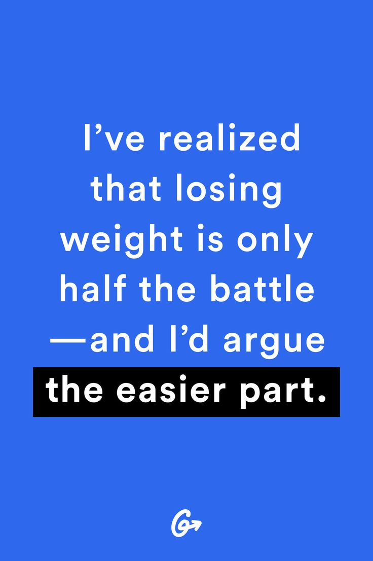Losing weight was the easy part, I'd say. Dealing with the aftermath—and keeping it off—was much harder. http://greatist.com/live/weight-loss-success-stories-what-no-one-tells-you-about-losing-weight