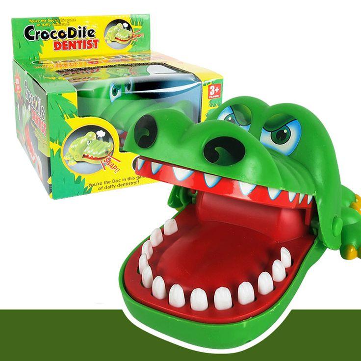 Grote Leuk Speelgoed Krokodil Tandarts Bite Finger Game Funny Novetly Krokodil Speelgoed voor Kids Gift