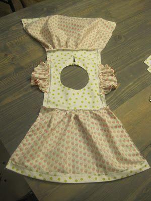 Es ist so viel einfacher, ein Kleid so zusammenzus…