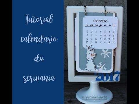 YouTube Calendari da scrivania, Tutorial, Cornici