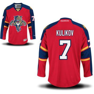 Florida Panthers 7 Dmitry Kulikov Home Jersey - Red [Florida Panthers Hockey Jerseys 006] - $50.95 : Cheap Hockey Jerseys