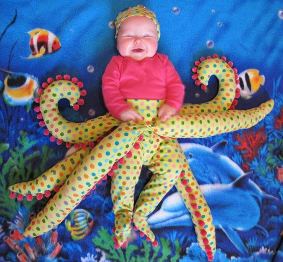 Baby octopus costume pattern by Bonnie Projects