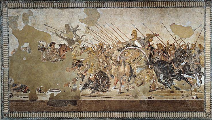 Wk 3: Alexander Mosaic/ Battle of Issos