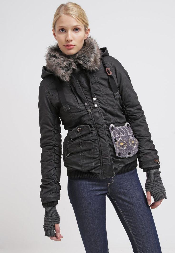 Khujo FELICE Veste d'hiver black prix promo Veste d'hiver Femme Zalando 170.00 €