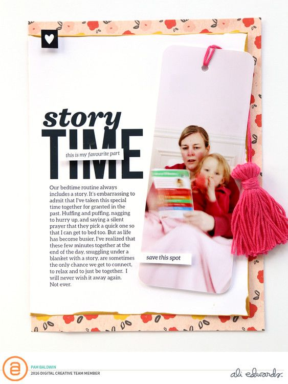 Story Time by PamBaldwin at @studio_calico