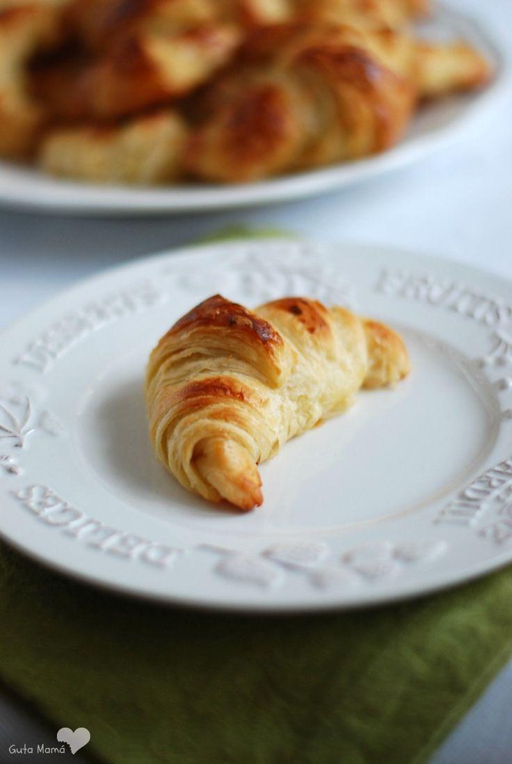 Croissant de hojaldre casero | Cocinar en casa es facilisimo.com