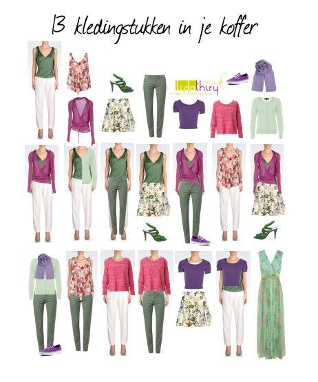 Bouw je garderobe op in capsules | www.lidathiry.nl |