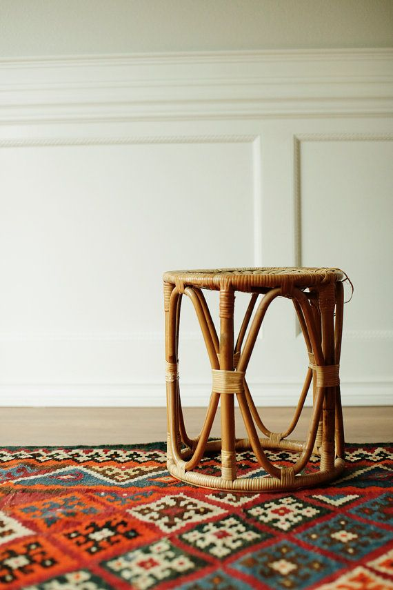 This Is A Really Cool Rattan Foot Stool. The Foot Stool Is Nice And Sturdy Design Inspirations