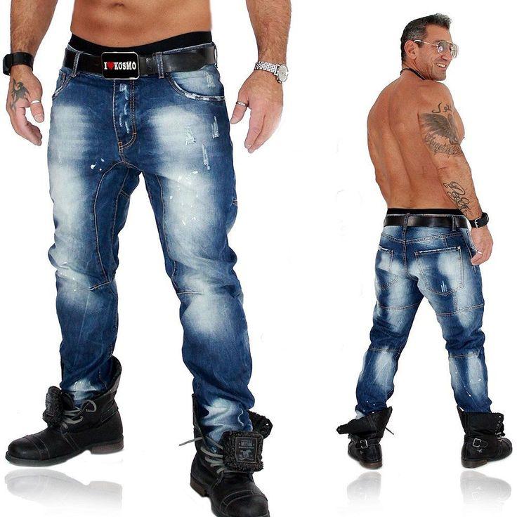 JUSTING Herren Jeans Hose Used Vintage Kosmo Japan Style 3071 | eBay