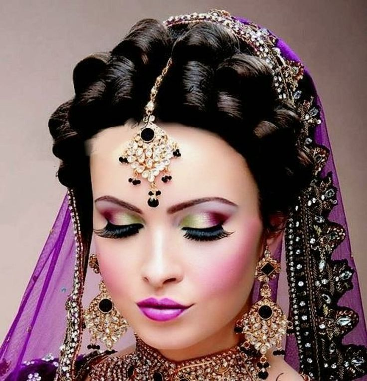 Indian Dulhan New Look Makeup Ideas 2014 For Girls Image Download | Bridal Makeup Ideas With ...