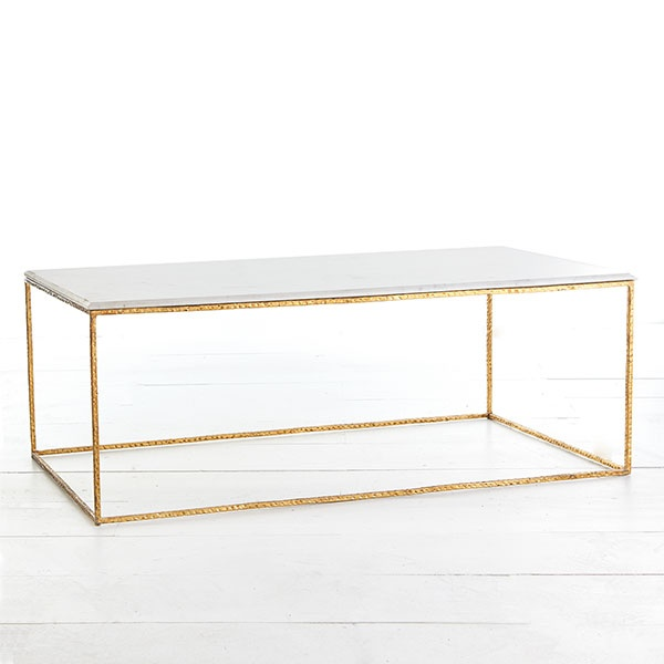 Wisteria - Furniture - Coffee Tables - Gold Leaf Collection - Coffee Table Thumbnail 2