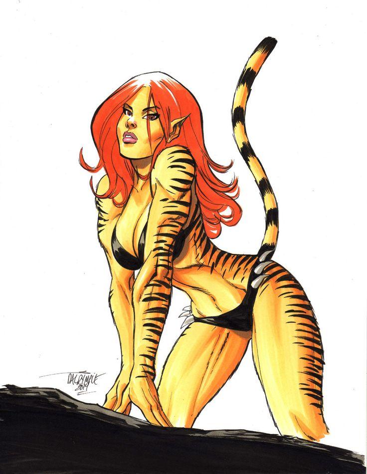 209 best Greer Grant Nelson AKA Tigra (Ty-gruh) images on ...