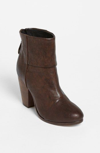 rag & bone 'Newbury' Bootie available at #Nordstrom Perfect for Fall!