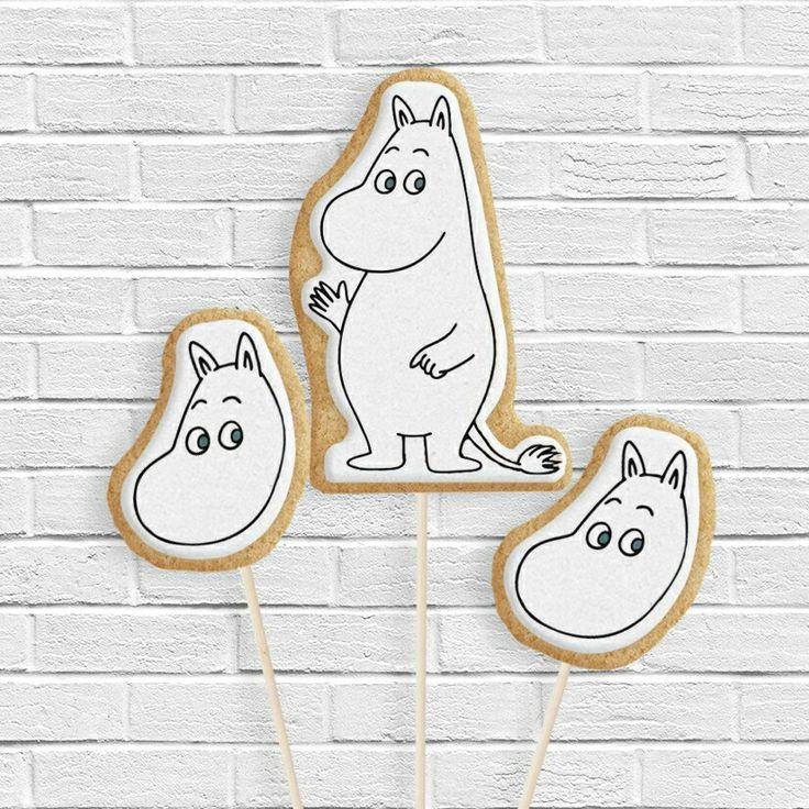Moomin cookie pops  Instagram : @qmjft