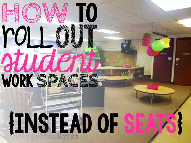 Someone asked me how I roll out alternative seating at the beginning of the school year. Great question! Let me share my top tips on introducing and implementing alternative seating starting the first day of school.