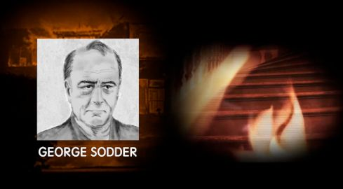 George broke back into the house to save them, but the staircase was on fire. When he went to get a ladder, he discovered that it was missing. Additionally, both of his trucks, which he wanted to use to climb on top of, would not start. | The Mysterious Disappearence Of These Children Will Keep You Up At Night