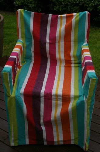 directors chair cover freya bright stripes