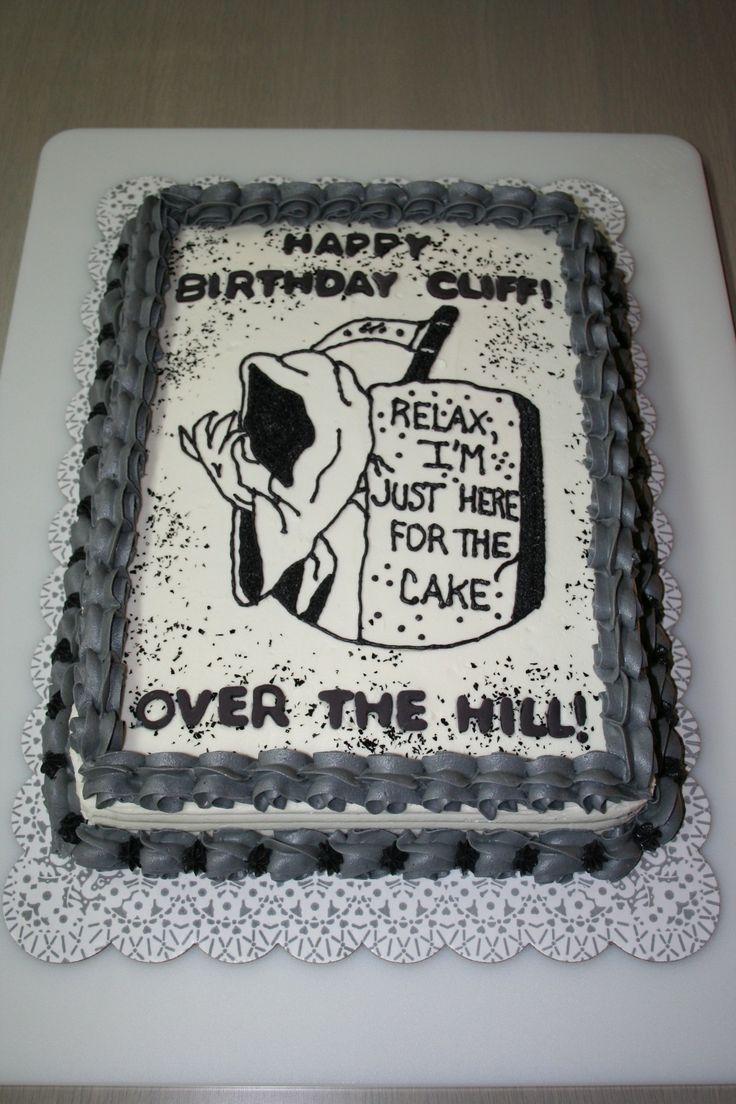 Over the hill birthday cakes photos party ideas