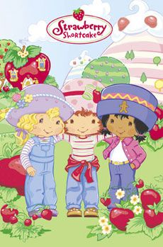 One of my happiest childhood associations? The smell of Strawberry Shortcake's hair!